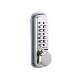 Codelocks CL290 - Mechanical Codelock with Mortice Latch - Back to Back