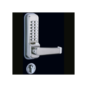 Codelocks CL425 - Mortice Lock with Double Cylinder, 3 Keys, Code Free option and Anti-panic Safety Function