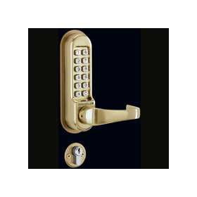 Codelocks CL520 - Heavy Duty Mortice Lock with Double Cylinder, 3 Keys and Anti-Panic Safety Feature