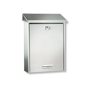 Burg Wachter Hannover 3861 Ni - Hannover 3861 Ni Stainless Steel Letter Box