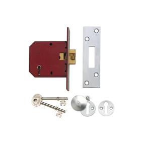 Union J2401 - 5-Lever Sliding Door Mortice Lock