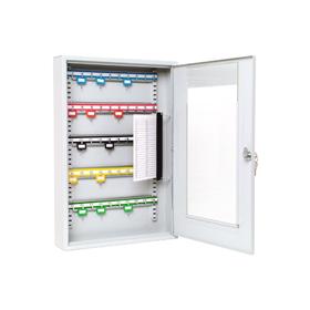Sterling Locks KC50HD - Heavy Duty Single Door Lockable Key Cabinet Perspex Window - 50 Keys