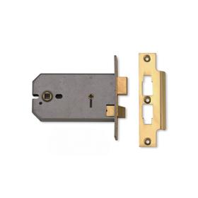 Union J2026 - 3-Lever Horizontal Bathroom Lock