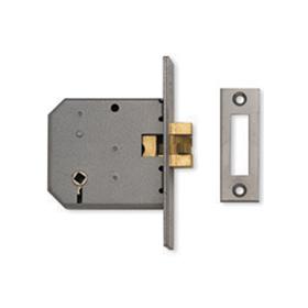 Union J2426 - 3-Lever Sliding Door Bathroom Lock