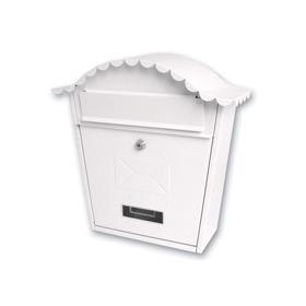 Sterling Locks MB01 - White Classic Post Box