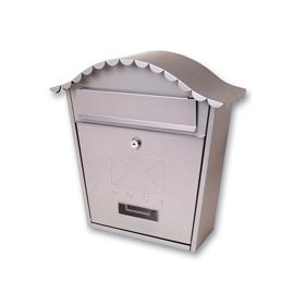 Sterling Locks MB01S - Silver Classic Post Box