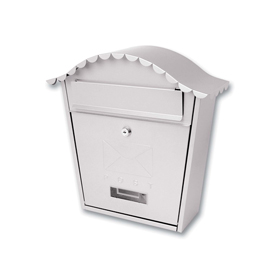 Sterling Locks MB01ST - Stainless Steel Classic Post Box
