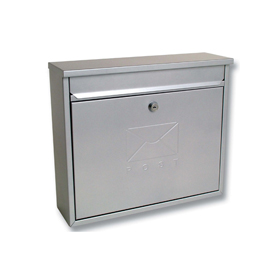 Sterling Locks MB02S - Silver Elegance Post Box
