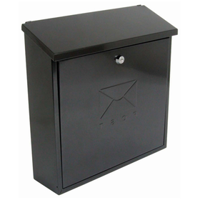 Sterling Locks MB03BKR - Black Contemporary Post Box
