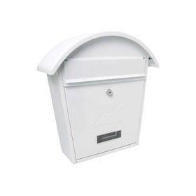 Sterling Locks MB06 - White Classic 2 Post Box