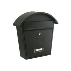 Sterling Locks MB06BK - Matt Black Classic 2 Post Box