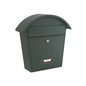 Sterling Locks MB06G - Matt Green Classic 2 Post Box