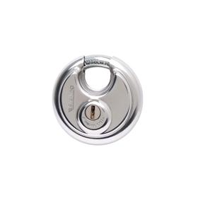 Sterling Locks SPL080 - Stainless Steel Disk Padlock 60mm