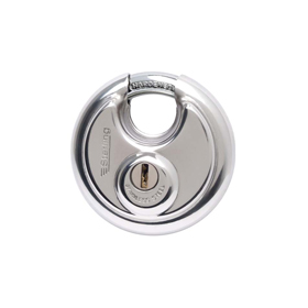 Sterling Locks SPL100 - Stainless Steel Disk Padlock 70mm