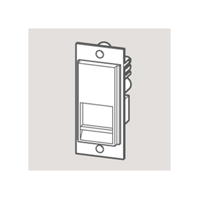 Wandsworth W 3706014 - BT SECONDARY Telecom Outlet Module/Black