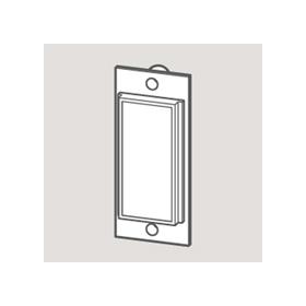 Wandsworth W 3706055 - Blank Plate/White