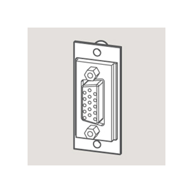 Wandsworth W 3706065 - SVGA Outlet Module/White