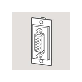 Wandsworth W 3706066 - SVGA Outlet Module/Black