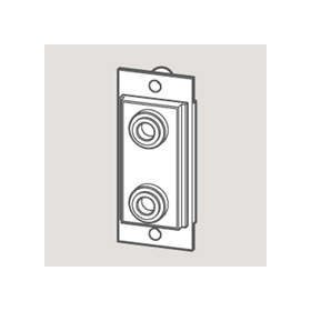 Wandsworth W 3706060 - Speaker Outlet Module/Black
