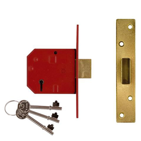 Union J2134E - BS 5-lever Mortice Dead Lock